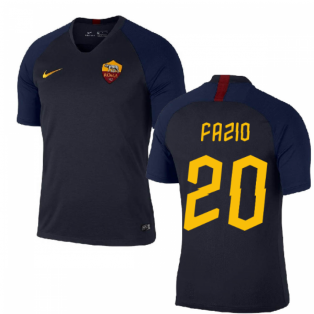 2019-2020 AS Roma Nike Training Shirt (Obsidian) (FAZIO 20)