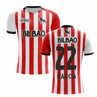 2020-2021 Athletic Bilbao Home Concept Football Shirt (GARCIA 22)
