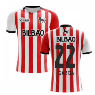 2020-2021 Athletic Bilbao Home Concept Football Shirt - Kids (GARCIA 22)