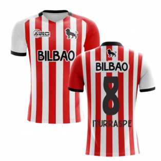 2020-2021 Athletic Bilbao Home Concept Football Shirt - Kids (ITURRASPE 8)