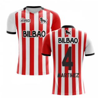 2019-2020 Athletic Bilbao Home Concept Football Shirt - Kids (MARTINEZ 4)