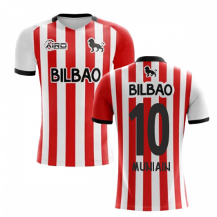 2019-2020 Athletic Bilbao Home Concept Football Shirt - Kids (MUNIAIN 10)