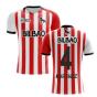 2020-2021 Athletic Bilbao Home Concept Football Shirt (MARTINEZ 4)