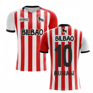 2019-2020 Athletic Bilbao Home Concept Football Shirt (MUNIAIN 10)
