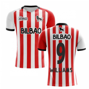 2019-2020 Athletic Bilbao Home Concept Football Shirt (WILLIAMS 9) - Kids