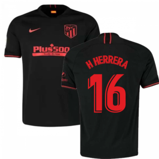 2019-2020 Atletico Madrid Away Nike Football Shirt (H Herrera 16)