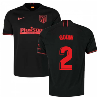 2019-2020 Atletico Madrid Away Nike Shirt (Kids) (GODIN 2)