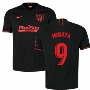 2019-2020 Atletico Madrid Away Nike Shirt (Kids) (Morata 9)