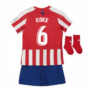 2019-2020 Atletico Madrid Home Nike Baby Kit (KOKE 6)