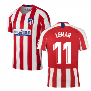 2019-2020 Atletico Madrid Home Nike Football Shirt (LEMAR 11)