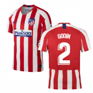 2019-2020 Atletico Madrid Home Nike Shirt (Kids) (GODIN 2)