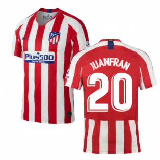 2019-2020 Atletico Madrid Home Nike Shirt (Kids) (JUANFRAN 20)