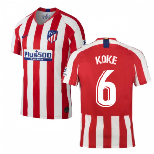 2019-2020 Atletico Madrid Home Nike Shirt (Kids) (KOKE 6)