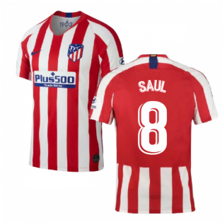 2019-2020 Atletico Madrid Home Nike Shirt (Kids) (SAUL 8)