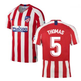 2019-2020 Atletico Madrid Home Nike Shirt (Kids) (THOMAS 5)