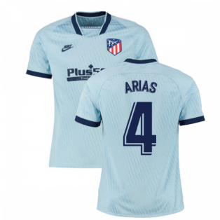 2019-2020 Atletico Madrid Third Nike Football Shirt (ARIAS 4)