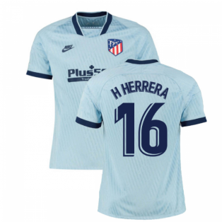 2019-2020 Atletico Madrid Third Nike Football Shirt (H Herrera 16)