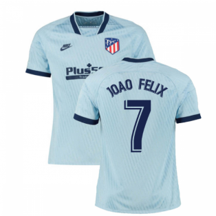 2019-2020 Atletico Madrid Third Nike Football Shirt (Joao Felix 7)