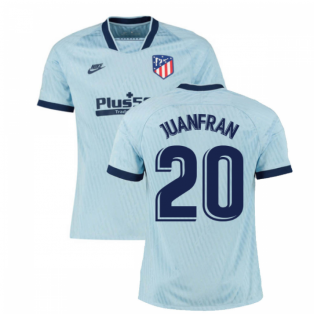 2019-2020 Atletico Madrid Third Nike Football Shirt (JUANFRAN 20)