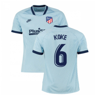 2019-2020 Atletico Madrid Third Nike Football Shirt (KOKE 6)