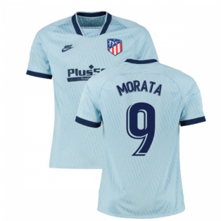 2019-2020 Atletico Madrid Third Nike Football Shirt (Morata 9)