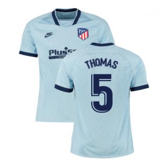 2019-2020 Atletico Madrid Third Nike Football Shirt (THOMAS 5)