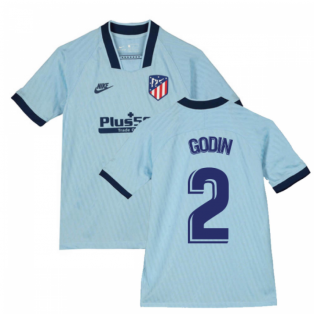 2019-2020 Atletico Madrid Third Nike Shirt (Kids) (GODIN 2)