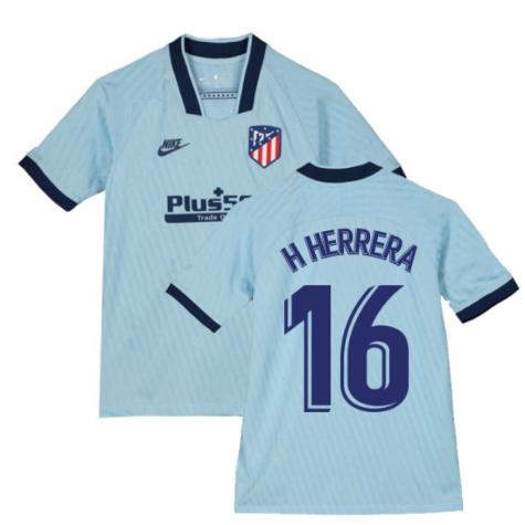 2019-2020 Atletico Madrid Third Nike Shirt (Kids) (H Herrera 16)