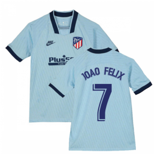 2019-2020 Atletico Madrid Third Nike Shirt (Kids) (Joao Felix 7)