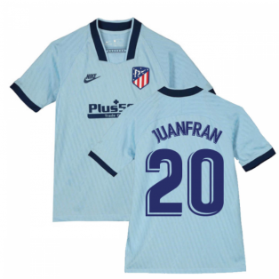 2019-2020 Atletico Madrid Third Nike Shirt (Kids) (JUANFRAN 20)