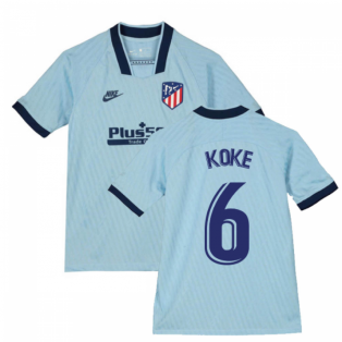 2019-2020 Atletico Madrid Third Nike Shirt (Kids) (KOKE 6)