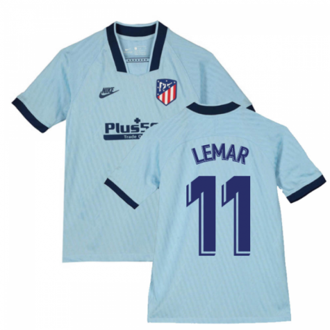 2019-2020 Atletico Madrid Third Nike Shirt (Kids) (LEMAR 11)