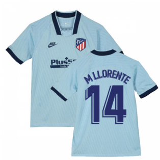 2019-2020 Atletico Madrid Third Nike Shirt (Kids) (M Llorente 14)