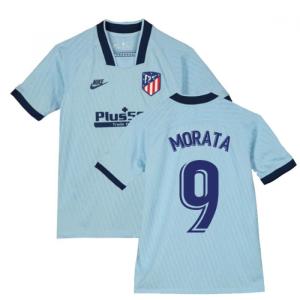 2019-2020 Atletico Madrid Third Nike Shirt (Kids) (Morata 9)