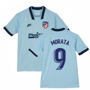 2019-2020 Atletico Madrid Third Nike Shirt (Kids) (Morata 9)