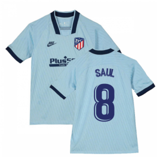 2019-2020 Atletico Madrid Third Nike Shirt (Kids) (SAUL 8)