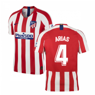 2019-2020 Atletico Madrid Vapor Match Home Shirt (ARIAS 4)
