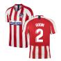 2019-2020 Atletico Madrid Vapor Match Home Shirt (GODIN 2)