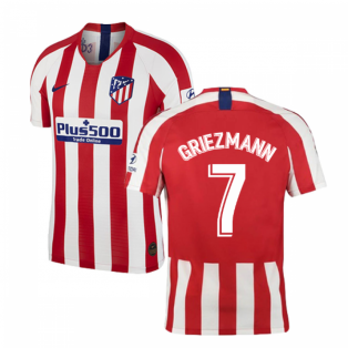 d65337d23df 2019-2020 Atletico Madrid Vapor Match Home Shirt (GRIEZMANN 7)