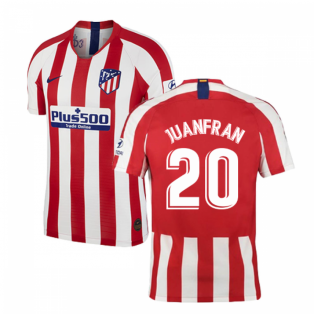 2019-2020 Atletico Madrid Vapor Match Home Shirt (JUANFRAN 20)