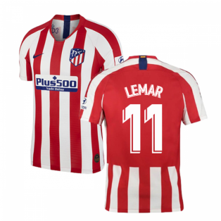 2019-2020 Atletico Madrid Vapor Match Home Shirt (LEMAR 11)