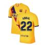 2019-2020 Barcelona Away Nike Football Shirt (ABIDAL 22)