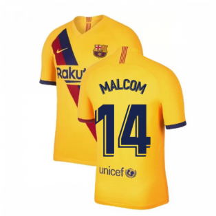 2019-2020 Barcelona Away Nike Football Shirt (MALCOM 14)