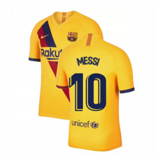 2019-2020 Barcelona Away Nike Football Shirt (MESSI 10)