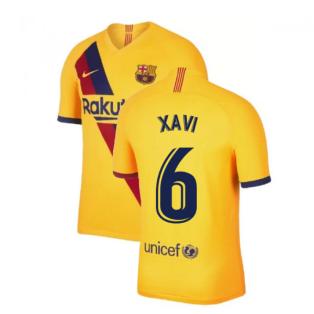 2019-2020 Barcelona Away Nike Football Shirt (XAVI 6)