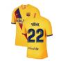 2019-2020 Barcelona Away Nike Shirt (Kids) (VIDAL 22)