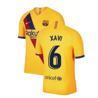 2019-2020 Barcelona Away Nike Shirt (Kids) (XAVI 6)