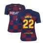 2019-2020 Barcelona Home Nike Ladies Shirt (ABIDAL 22)