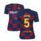 2019-2020 Barcelona Home Nike Ladies Shirt (PUYOL 5)