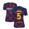 2019-2020 Barcelona Home Nike Ladies Shirt (SERGIO 5)